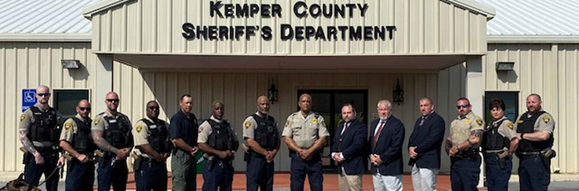 Kemper County Sheriff, Deputies and Staff